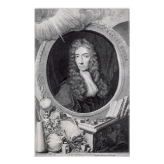Portrait of the Honorable Robert Boyle Poster