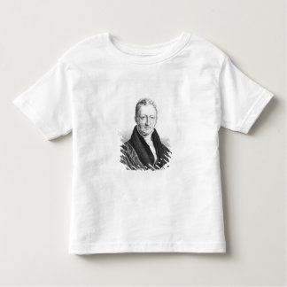 Portrait of Thomas Robert Malthus Toddler T-Shirt