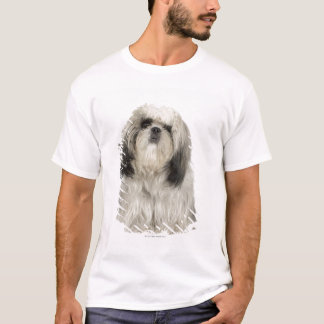 Portrait of Tibetan Terrier puppy T-Shirt