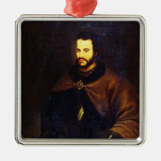 Portrait of Tsar Ivan the V Alexeyevich Christmas Ornament