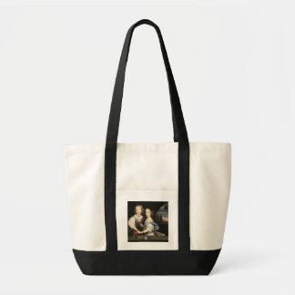 Portrait of Winston and Arabella (1648-1730) Churc Tote Bag