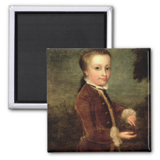 Portrait of Wolfgang Amadeus Mozart  aged Magnet