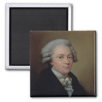 Portrait of Wolfgang Amadeus Mozart Magnet