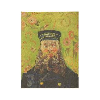 Portrait Postman Joseph Roulin - Vincent van Gogh Wood Poster