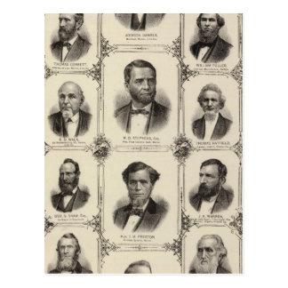 Portraits of Addison Daniels, RD Stephens Postcard