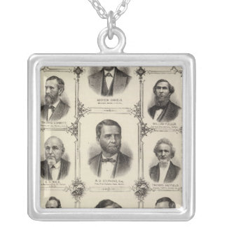 Portraits of Addison Daniels, RD Stephens Silver Plated Necklace