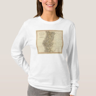 Portugal Atlas Map T-Shirt