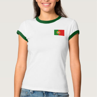 Portugal Flag + Map T-Shirt