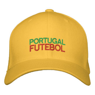 PORTUGAL FUTEBOL EMBROIDERED HAT