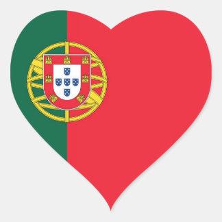 PORTUGAL HEART STICKER