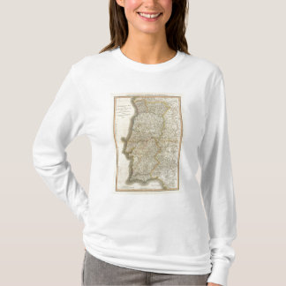 Portugal Map T-Shirt