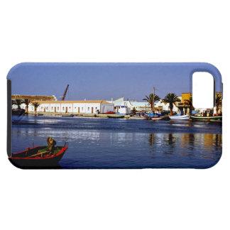 Portugal Seaside I - Sapphire & Crimson Magic Tough iPhone 5 Case