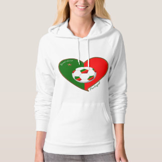 """PORTUGAL"" Soccer Team. Portuguese soccer 2014 Hoodie"