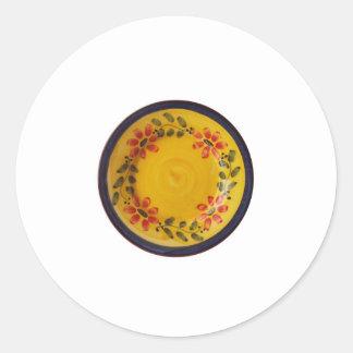 Portuguese Pottery Classic Round Sticker