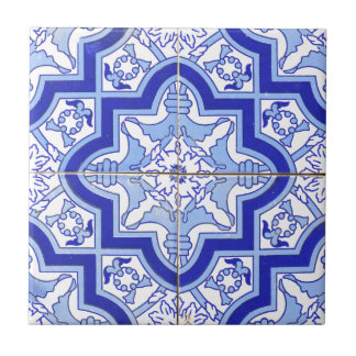 Portuguese Tile Blue and White