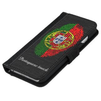 Portuguese touch fingerprint flag iPhone 6 wallet case