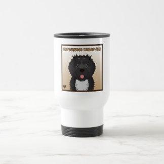 Portuguese Water Dog Cartoon Mug