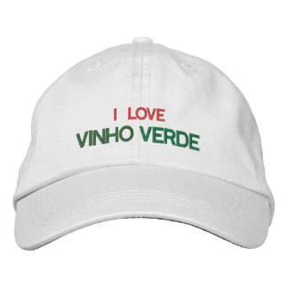 Portuguese Wine Hat (Vinho Verde) Embroidered Hat