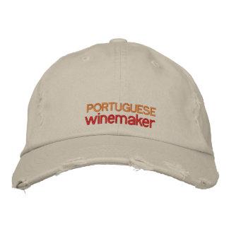 PORTUGUESE WINE MAKER, PORTUGUESE WINE EMBROIDERED CAP