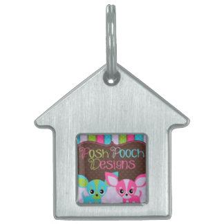 Posh Pooch Designs Dog House Dog Tag Pet Name Tags