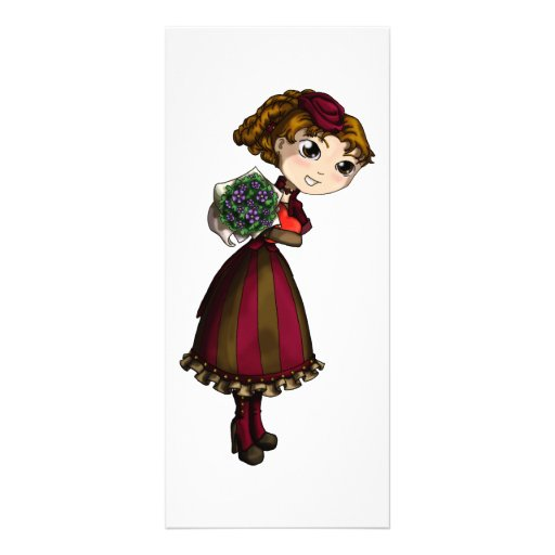 Posies and Chocolates Custom Rack Cards
