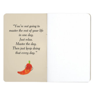 Positive Chili Pepper Pun - Just Chilin Journal