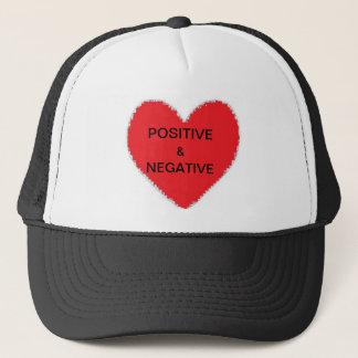 POSITIVE & NEGATIVE TRUCKER HAT