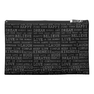 Positive Thoughts Travel Accessories Bag