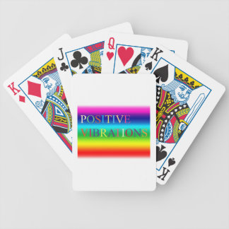Positive Vibrations Bicycle Playing Cards