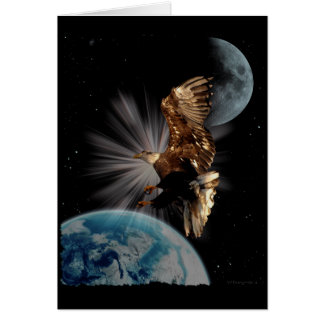 """""""POSSIBILITIES"""" Bald Eagle Motivational Gifts Card"""