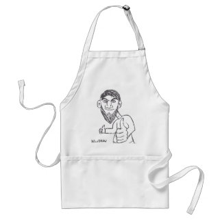Possitive thinking every day! standard apron