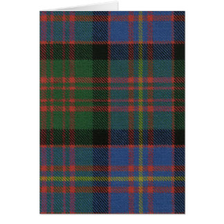 Post Card Cameron of Erracht Ancient Tartan Print