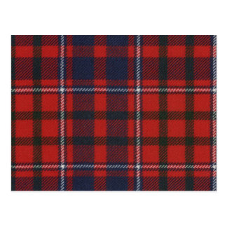Post Card Cameron of Lochiel Tartan Print