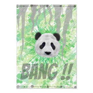 Post Lin Panda Card