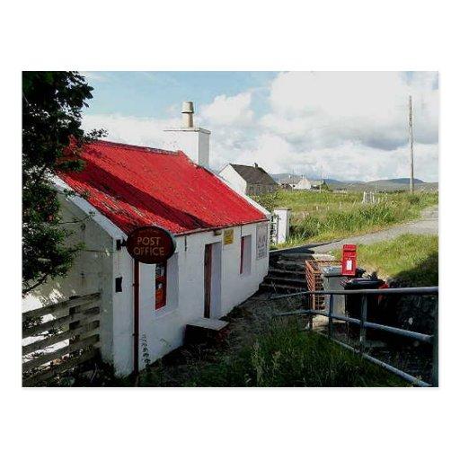 Post Office, Balallan, Isle of Lewis, Scotland Post Card