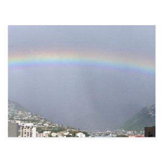 Postcard:  Oahu Rainbow Postcard