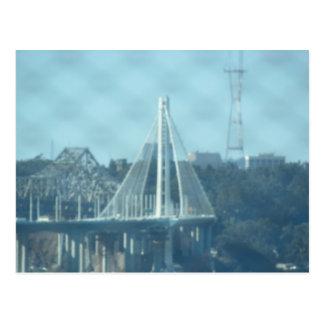 Postcard - Oakland Bay Bridge Tower