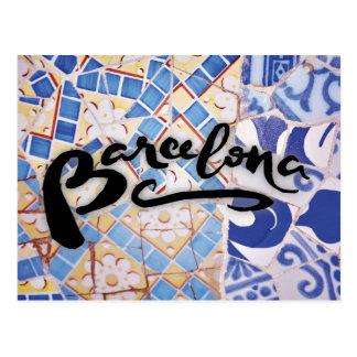 Postcard of Barcelona