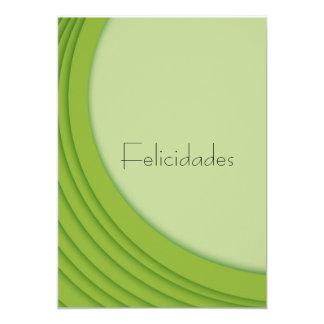 postcard of congratulations (green)