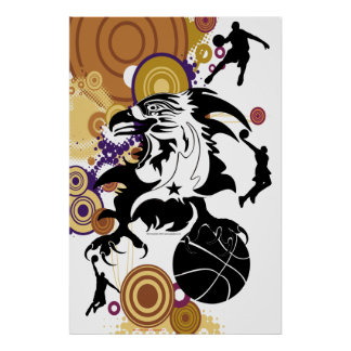 Poster-Eagle-Basketball-logo-1 Poster