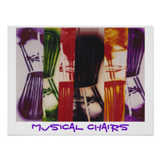 Poster - Musical Chairs