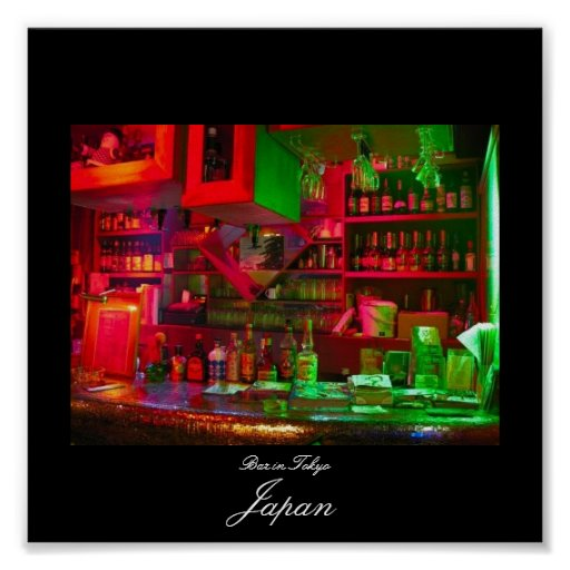Poster of Bar in Tokyo
