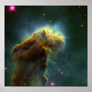 Poster Print Starry Sea Serpent - NASA Image