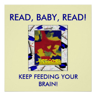 POSTER - READ, BABY, READ!