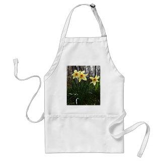 Posterized Daffodils Standard Apron