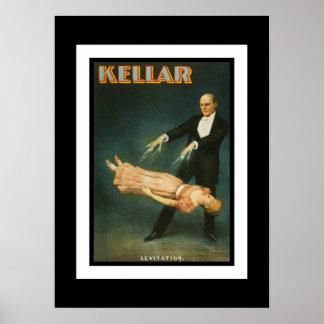Posters Theater Vintage Kellar Magican Print
