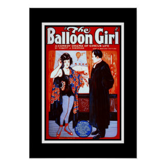 Posters Theater Vintage The Balloon Girl Posters