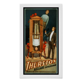Posters Theater Vintage Thurston Magican Print