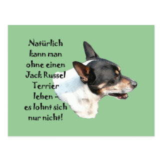 "Postkarte ""Jack Russel Terrier"" Postcard"