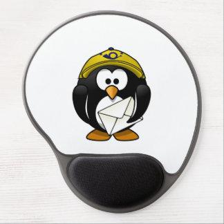 Postman Penguin Bird Cartoon Gel Mouse Pad